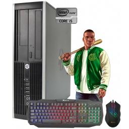 PC Computadora Gamer HP Core i5 8gb 250GB Tarjeta de Video Nvidia GeForce GT710 2GB + Combo Gaming