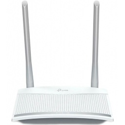 Router TP-Link WiFi TL-WR820N Doble Antena 5dBi 300Mbps Rápido y Compacto