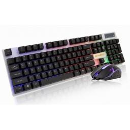 Combo Teclado y Mouse Gamer Bosston 8310 Retroiluminado