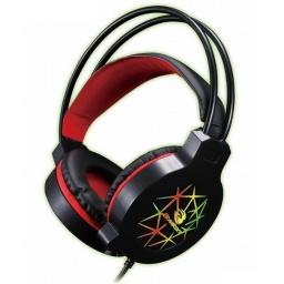 Auricular Vincha Gamer con Micrófono Bosston HS-09 Grandes y Comodos