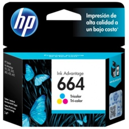 Cartucho Original HP 664 Tricolor Para Deskjet 2135 2675 3635 4535 3775 3785