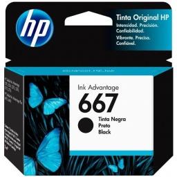 Cartucho Original HP 667 3YM79AL Negro Para Deskjet 2375 2775 2776