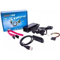 Adaptador Conversor de SATA / IDE 2.5'' / 3.5'' a USB