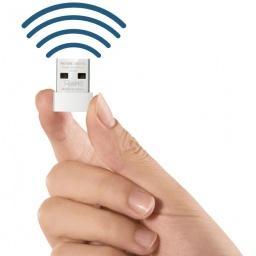 Adaptador Antena USB Receptor de WiFi Mercusys MW150US Nano N150