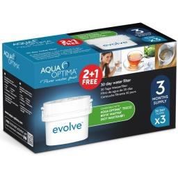 Filtros Aqua Optima Evolve Pack de 3 Unidades x30 Días Repuesto