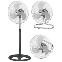 Ventilador Oditox 3 En 1 Pared Mesa Pie Turbo Aspa De Metal Alta Calidad