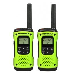 Handy Walkie Talkie Motorola TalkAbout T600 2 Vías 56 Km con Linterna Bateria y Resistente al Agua