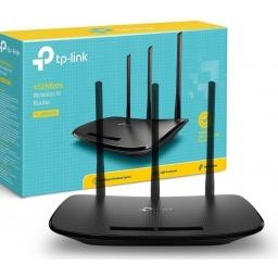 Router TP-Link Wireless TL-WR940N WiFi 450Mbps 3 Antenas de Gran Alcance