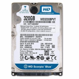 Disco Duro Sata 320 GB 2.5'' Para Notebook / Netbook Refabricados Varias Marcas