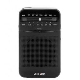 Radio Portátil Portable Clásica Allied AL-RA32 FM/AM de Bolsillo a Pilas
