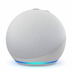 Parlante Inteligente Smart Amazon Echo Dot (4TH Gen) con Alexa - Glacier White