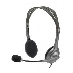 Auricular Logitech H111 Stereo Headset con Micrófono conector 3.5mm único
