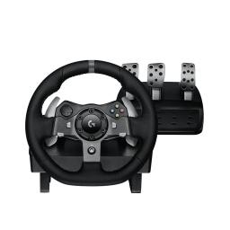 Volante Gamer Profesional Logitech G920 con Pedalera  para PC y XBOX One