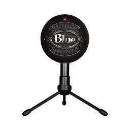 Micrófono Blue Snowball Profesional Ideal Para Streamer USB - Negro