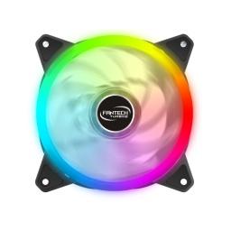 Fan Cooler Ventilador Fantech FC-124 Turbine 12cm. Full RGB Molex