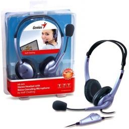 Auriculares Genius HS-04S con Microfono y Anulacion de Ruido