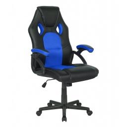 Silla Gamer Gaming Racing Pro 5179 Cómoda Ergonomica De Calidad - Azul