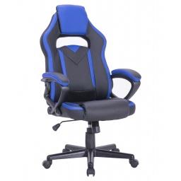 Silla Gamer Gaming Racing Pro AF-C5481 Muy Comoda, Grande, Ergonomica De Calidad - Azul