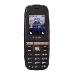 Celular Multilaser UP Play 1.8'' Basico Dual Sim Radio FM Cámara Nuevo y Libre - Negro