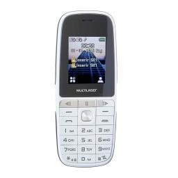 Celular Multilaser UP Play 1.8'' Basico Dual Sim Radio FM Cámara Nuevo y Libre - Plateado
