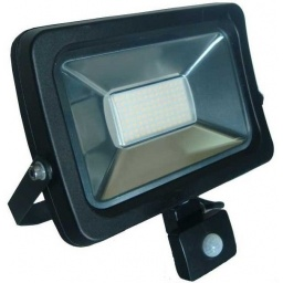 Foco LED 10W Exterior IP65 220v con Sensor Movimiento - Luz Fria