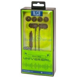 Auricular Manos Libres Stereo ROCA Universal - Negro