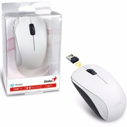 Mouse inalambrico Genius NX-7000 BlueEye USB Blanco