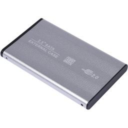 Gabinete Carcasa Xtreme 25EA de Aluminio para Disco Duro 2.5'' USB 2.0 a Sata