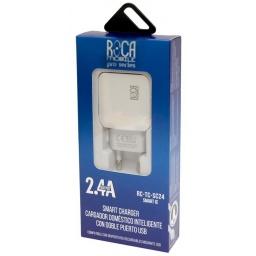 Cargador Inteligente Standard ROCA 2.4A + Cable Lightning