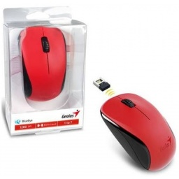 Mouse inalambrico Genius NX-7000 BlueEye USB Rojo