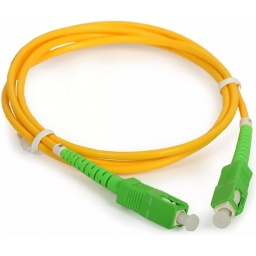 Cable Red Patchcord de Fibra Optica 10 Metros