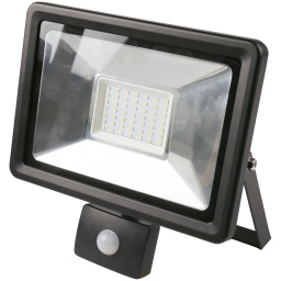 Foco LED 50W Exterior IP65 220v con Sensor Movimiento - Luz Fria