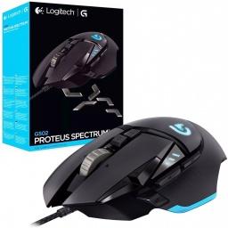 Mouse Gamer Logitech G502 Proteus Spectrum RGB 11 Botones