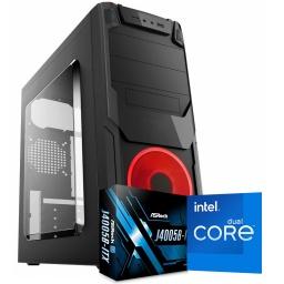 Pc Computadora INTEL Dual Core J4005 16GB DDR4 Ram 500GB HDD + 120GB SSD WiFi