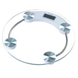 Balanza de Baño digital de Vidrio Templado Hasta 180Kg. 26cm. Diametro