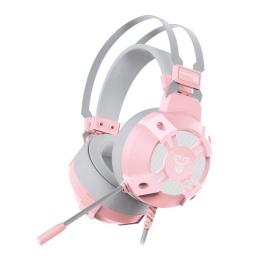 Auricular Gamer Fantech Sakura HG11 Virtual 7.1 Surround Led RGB - Space Edition (Blanco)