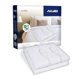 Calienta Cama Allied AL-BW02 2 Plazas, 3 Temperaturas, 100% Poliester
