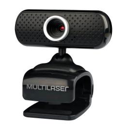 Webcam Camara Web Multilaser WC051 480P Alta Definición USB con Microfono