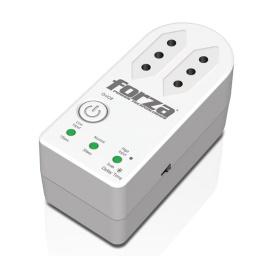 Protector Regulador de Voltaje Forza FVP-1202B-C 220v Tres en Línea