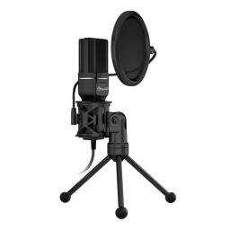 Micrófono de Condensador Profesional Marvo MIC-03 USB Gamer Streaming y Más