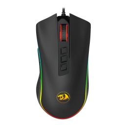 Mouse Gamer Redragon Cobra M711W Chroma RGB Botones Programables - Negro