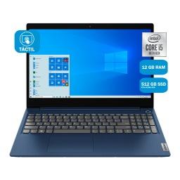 Notebook Lenovo 15IML05 Core i5-10210U 12GB 512GB SSD NVMe Pantalla 15.6'' LED IPS Touchscreen