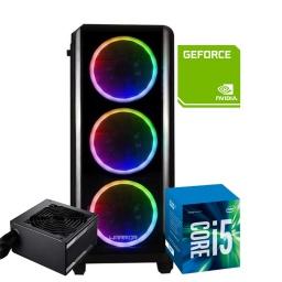 PC Computadora Gamer Warrior Core i5-2400 12GB RAM 240GB SSD + Tarjeta de Video GT710 2GB