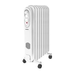 Radiador Electrico Punktal PK-6600CF 9 Elementos 2000W Termostato ajustable