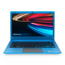 Notebook Gateway GWTN116 AMD Dual Core A4-9120E 4GB Ram 64GB SSD 11.6'' Full HD Windows 10 - Azul