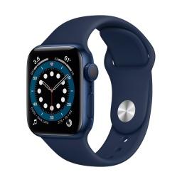 Reloj Apple Smart Watch Serie 6 M00J3BE/A Bluetooth WiFi 1,8'' - Blue