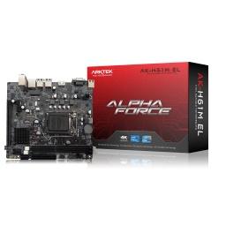 Motherboard ARKTEK AK-H61M EL Intel Chipset H61 Socket LGA 1155 Nueva