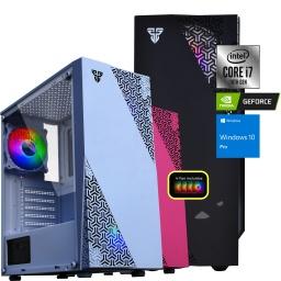 PC Computadora Intel i7-10700F 16GB DDR4 Rgb 500GB SSD + 2TB HDD Thermaltake Case+Cooler Video GTX1050Ti 4GB
