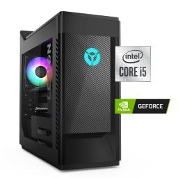 PC Computadora Gamer Pro Lenovo Legion T5 Intel Core i5-10400F 1TB+256GB SSD 16GB Tarjeta de Video GTX1050Ti 4GB