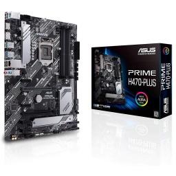 Motherboard Asus Prime H470 Plus Csm Socket LGA 1200 10ma. Generación Aura Sync RGB